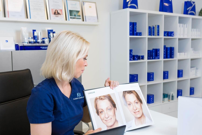 Kosmetisk ansiktsbehandling fra Klinikk Haukeland i Drammen