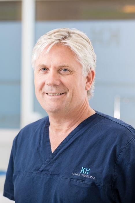Portrett av Lars Haukeland hos Klinikk Haukeland