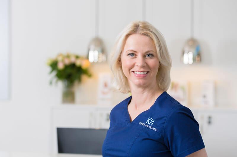 Linn Røste Moe ved Klinikk Haukeland i Drammen
