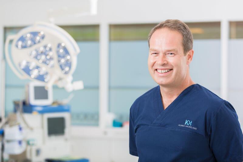 Thomas Hayes ved Klinikk Haukeland i Drammen