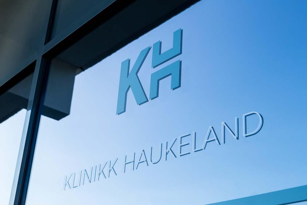 Fasade hos klinikk Haukeland, Overdreven svette