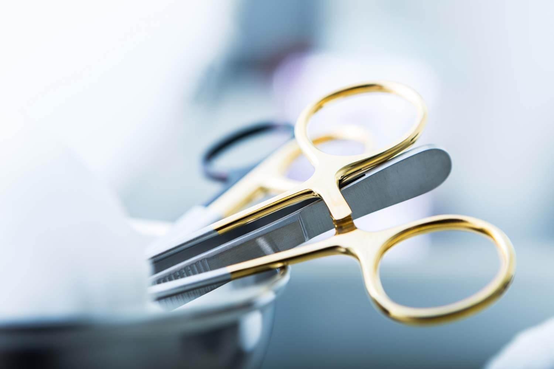 Operasjonsverktøy for panneløft hos Klinikk Haukeland